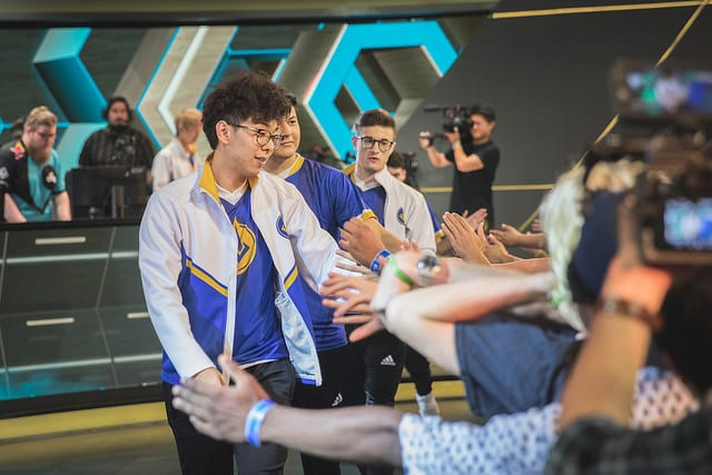 GGS Deftly carried the team to a win over C9 in week two